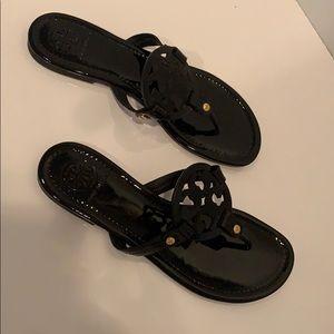 Tory Burch patent sandal